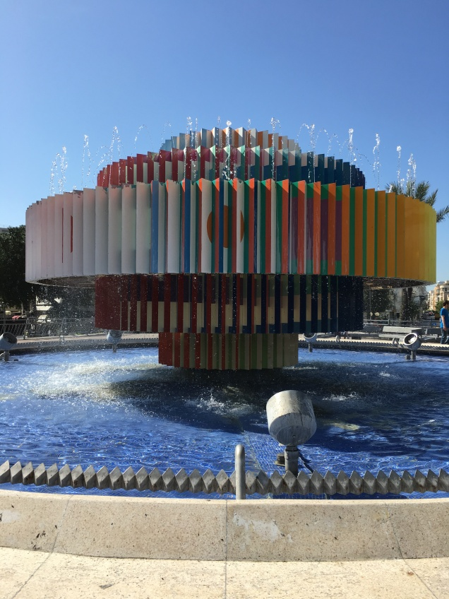 The Dizengoff Fountain